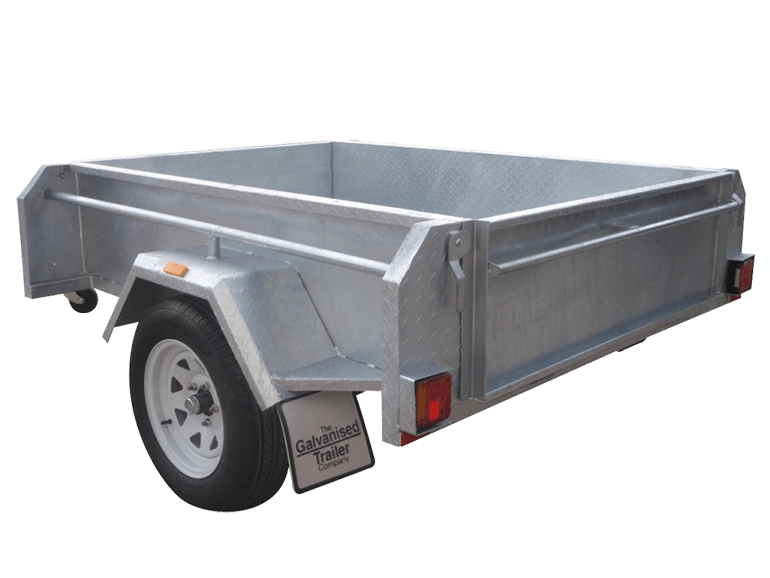 6×4 Single Axle Trailers