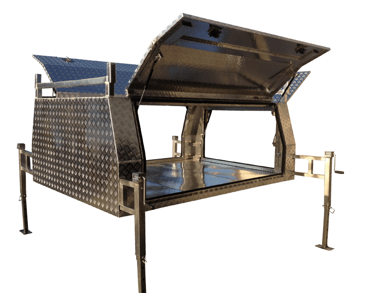Aluminium Jack-Off Ute Canopies  sc 1 st  Galvanised Trailer Company & Best Priced Jack Off Aluminium Ute Canopy in Australia